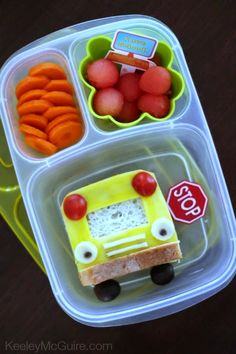 Keeley McGuire: Lunch Made Easy: Back to School Bus! #glutenfree #nutfree #easylunchboxes