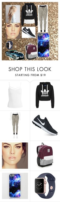 """""""Last year of School"""" by venessa111551 on Polyvore featuring Sans Souci, rag & bone, NIKE, Victoria's Secret and BMW"""