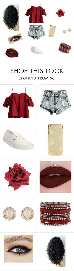 """Take Me to Hawaii"" by laurenbrgr ❤ liked on Polyvore featuring Anna October, Vans and Kate Spade"
