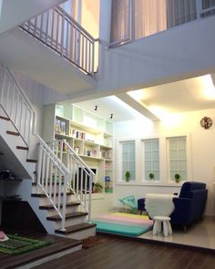 Bedroom Interior Decorating Small Rooms Mezzanine Ideas For 2019 Home Stairs Design, Home Room Design, Home Design Plans, Home Interior Design, Interior Architecture, Interior Decorating, Stair Design, Interior Ideas, Bungalow House Design