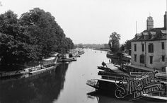 View from Folly Bridge 1893