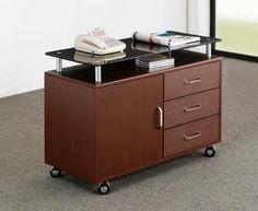 stylish modern office cabinet