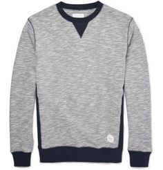 Saturdays Surf NYC Bowery Two-Tone Cotton Sweatshirt | For BrandyPants