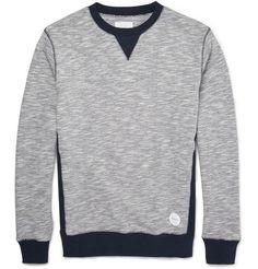 Saturdays Surf NYC Bowery Two-Tone Cotton Sweatshirt | For BrandyPants