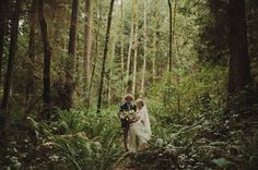 Seattle inspired elopement
