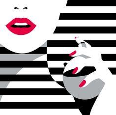 Le style audacieux minimaliste français de Malika Favre