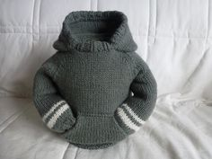 Ravelry: Baby Sweater with Hood & Pocket pattern by A forUFromMEproduct