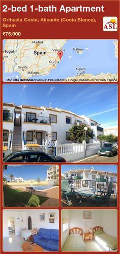 2-bed 1-bath Apartment in Orihuela Costa, Alicante (Costa Blanca), Spain ►€75,000 #PropertyForSaleInSpain
