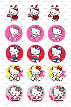 30 Hello Kitty Bottle CAp Images by WholeSaleSuppliesRUs on Etsy, $1.50  https://www.etsy.com/listing/200706627/30-hello-kitty-bottle-cap-images?ref=sr_gallery_6&ga_order=date_desc&ga_view_type=gallery&ga_page=43&ga_search_type=all