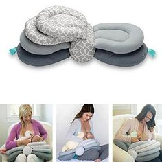 Multifunktionales Stillkissen Multifunctional Nursing Pillow This multifunctional nursing pillow relieves your shoulder while breastfeeding your child.Three adjustable heights allow you to opti # Baby Feeding Pillow, Breastfeeding Pillow, Breastfeeding Tips, Baby Growth, Nursing Pillow, Baby Pillows, Baby Sofa, Baby Hacks, Baby Outfits