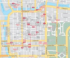 Self-Guided Chicago Loop Architecture Walking Tour and Sightseeing Map   MetroWalkz