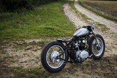 Old Empire Motorcycles Tempest - the Bike Shed - Yamaha Xs650 Bobber, Bobber Motorcycle, Bobber Chopper, Bobber Custom, Custom Motorcycles, Custom Bikes, Yamaha 650, Moto Cafe, Bike Shed