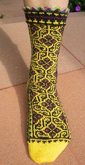 Ravelry: Labyrinthine pattern by Leslie Comstock