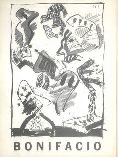 Bonifacio expone en la Galería Jamete Cuenca Noviembre/Diciembre 1977 #GaleriaJamete #Cuenca #Bonifacio