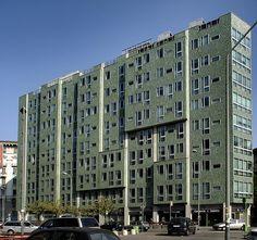 EDIFICIO MONTEDORIA (1970) + Gio Ponti a Milano Bauhaus, Gio Ponti, Art Deco, Palazzo, Modern Architecture, Multi Story Building, Cityscapes, Milano, Design