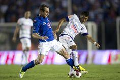 Gerardo Torrado en el Estadio Azul.