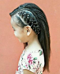 Ideas Braids For Girls Black For Kids Cornrows Baby Girl Hairstyles, Braided Hairstyles, Teenage Hairstyles, Natural Hair Styles, Long Hair Styles, Girls Braids, Toddler Hair, Hair Dos, Gorgeous Hair