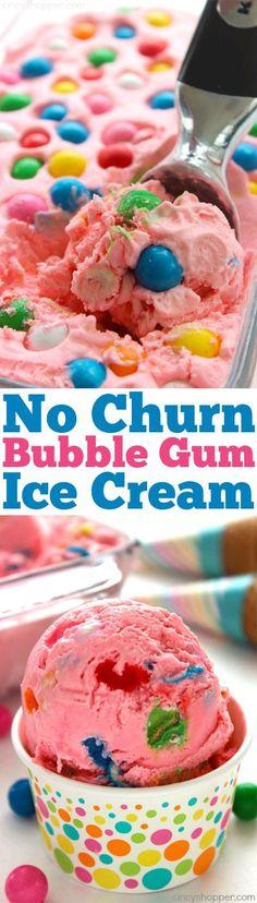Bubber Gum ICE Cream