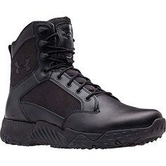 Under Armour Herren UA Tac Tactical Einsatzstiefel Stellar, schwarz, 41 EU Under Armour Herren, Under Armour Men, Comfortable Mens Boots, Mens Winter Boots, Black 13, Men S Shoes, Black Boots, Combat Boots, Men's Boots