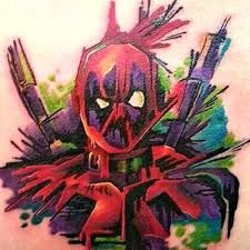 Image result for deadpool tattoo