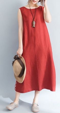 Women dress loose fit pocket maxi tunic summer casual Bohemian Boho beach  chic 741ce7871ec7
