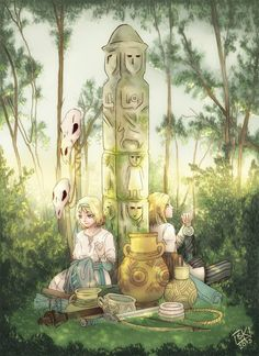 Światowid (statue) was the most important slavic god