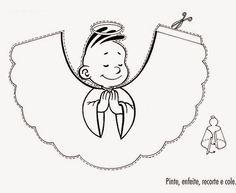 Melhor Pensar: Como lidar com o medo da criança? O Anjo da guarda como uma terceira via. Christmas Crafts For Kids To Make, Kids Christmas, Angel Images, Sunday School Crafts, Cardboard Crafts, Coloring Book Pages, Paper Toys, Christmas Colors, Christmas Angels