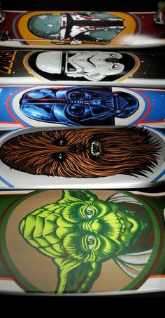 Santa Cruz #Skateboards x #StarWars 3/1 at SW.