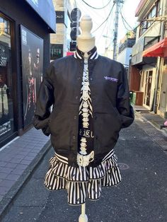 Hyper Core mannequin on the streets of Harajuku