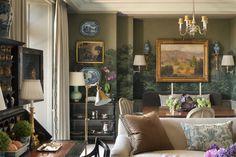 Cathy Kincaid and John B. Murray Architect - NY apartment - Zuber wallpaper