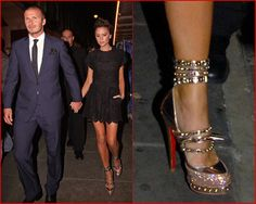THIS is why it pays to be rich and skinny... not everyone can rock Louboutins like these!!!