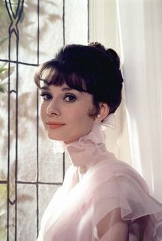 "Audry Hepburn in the American musical film ""My Fair Lady"" Costume designer Cecil Beaton. (1964)"