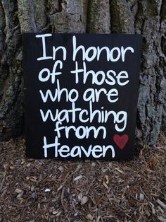 #weddingsign #heavensign #inmemoryweddingsign  In Honor of Those Watching From Heaven Wedding by loveofshabchic