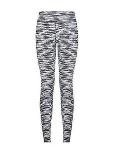 Work these Black Abstract Print Sports Leggings at the gym or on the streets. #newlook #sportswear