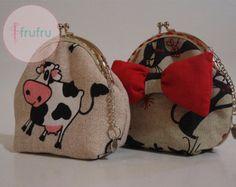 Coin purse / Clasp purse / Fabric purse / Frame purse / Cow purse / Cat purse -    Edit Listing  - Etsy