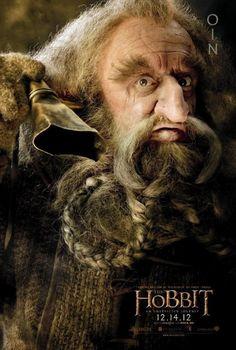 O Hobbit - Uma Jornada Inesperada - Poster Oin