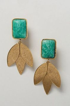 Vernal Earrings #anthrofav #greigedesign