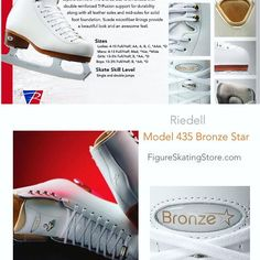 Riedell Model 435 Bronze Star Ladies Figure Skates ✅ https://figureskatingstore.com/riedell-model-435-bronze-star-ladies-figure-skates/ Lighter than ever before, the 435 Bronze Star is designed with firm support and enhanced fit for superb comfort #figureskating #figureskatingstore #figureskates #skating #skater #figureskater #iceskating #iceskater #icedance #ice #Skates #iceskates #riedell #riedellskates #icedance