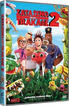 Film Zataženo, občas trakaře 2 na DVD. Cloudy with a Chance of Meatballs 2 dvd.