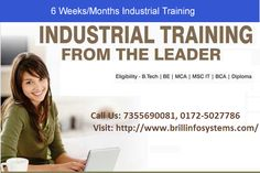 Six weeks and six month #industrialtraining period give the students wonderful opportunities when they can learn about the technical world and can build their direction for professional life.