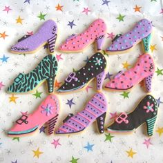 Shoe Decorated Cookies