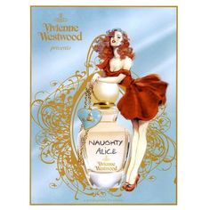 Vivienne Westwood Ad Campaign Naughty Alice - MyFDB ❤ liked on Polyvore featuring ad campaign