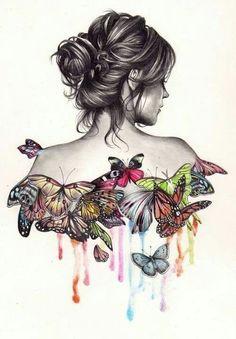 Butterflys & babe