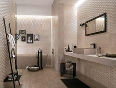 modelo de azulejos de baño con relieve