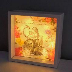 Alice in Wonderland Light Box Led Light Box White Light Box