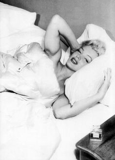 """""""What do I wear in bed? Why, Chanel No. 5, of course"""" ― Marilyn Monroe"""