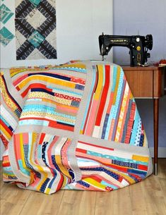 Do you ever have a design that forms in your head over years and finally comes out even better than you'd hoped. That is the case with this quilt: Photo Credit: Lucky Spool Media, Photographer Lauren