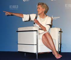 Sharon Stone Photos - Pilosio Building Peace Award in Milan - Zimbio