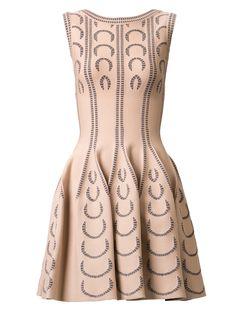 Azzedine Alaia Print Knit Dress