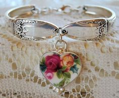 Spoon Bracelets Silver Spoon Jewelry Bracelets Broken China Jewelry and Charms